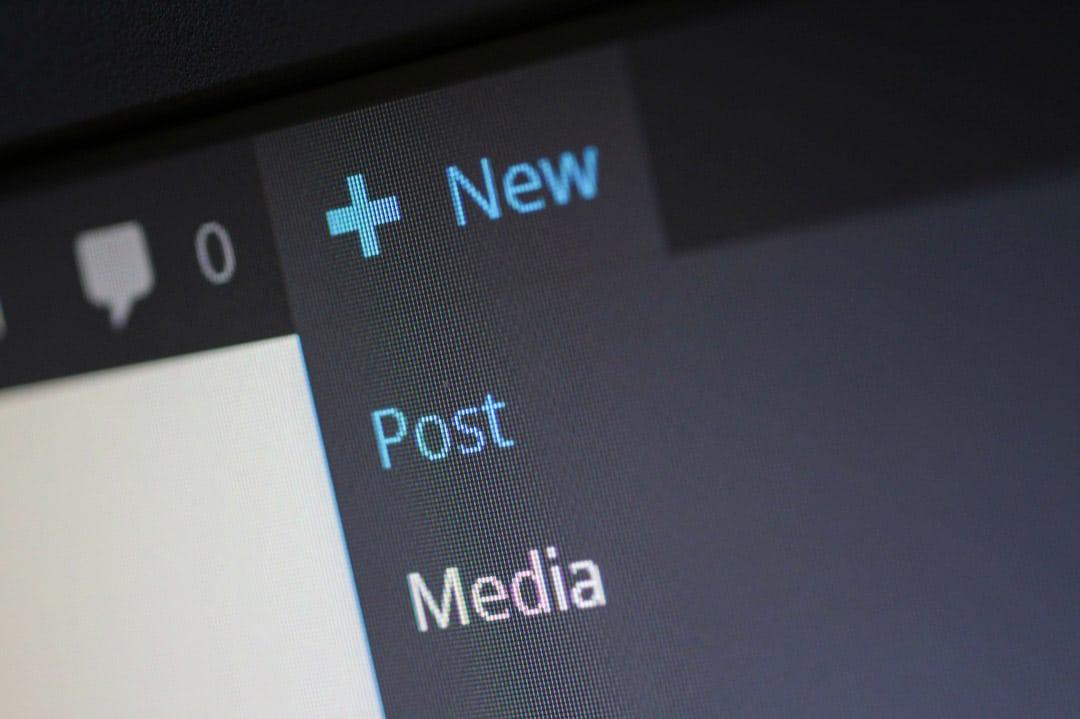 crear entradas wordpress
