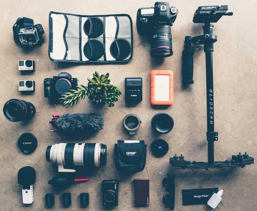 Equipo de fotografía