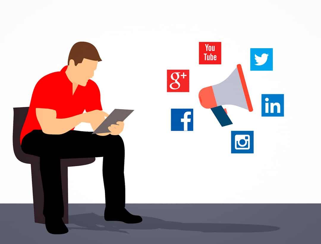 redes sociales tráfico web