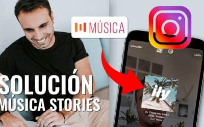 Cómo poner música en Instagram Stories ¡Solución!