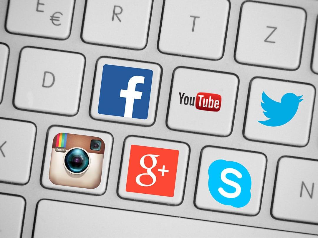 redes sociales visibilidad online