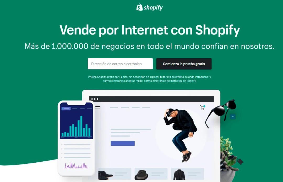 shopify plataforma ecommerce
