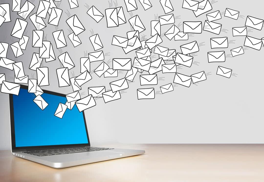 vender con el email