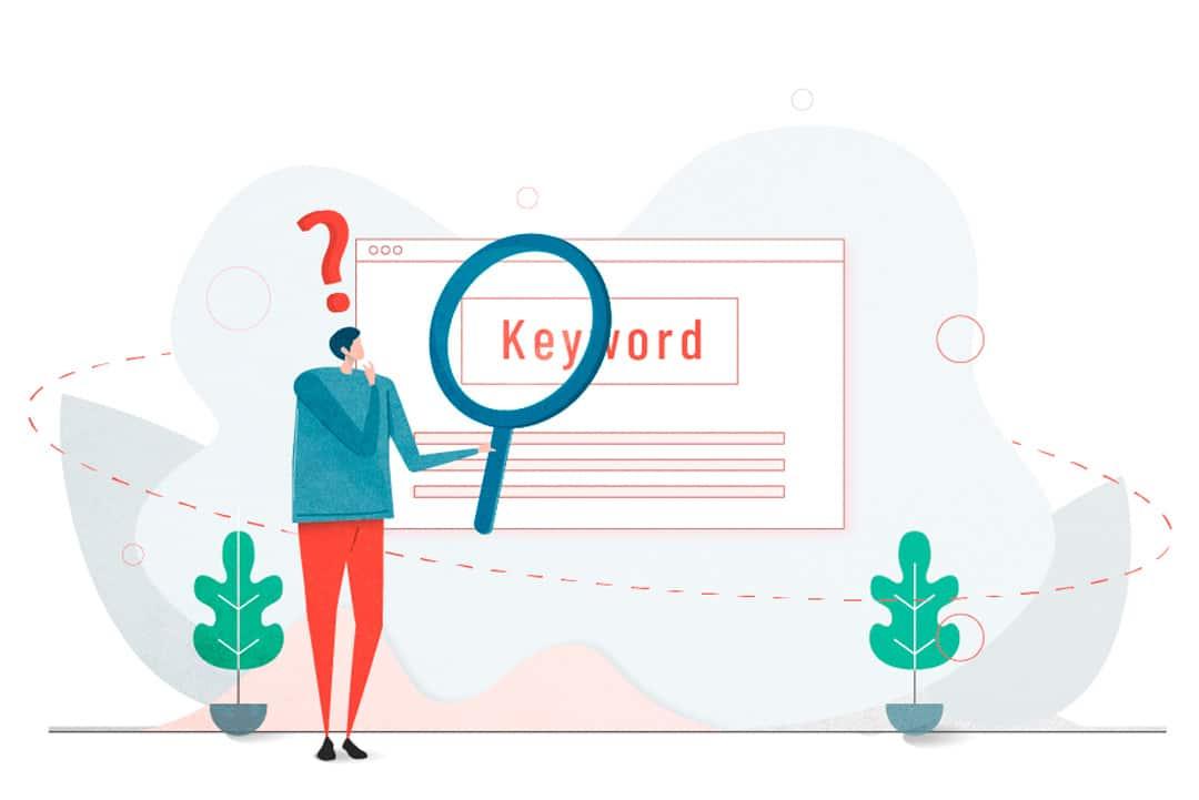 hacer búsqueda palabras clave