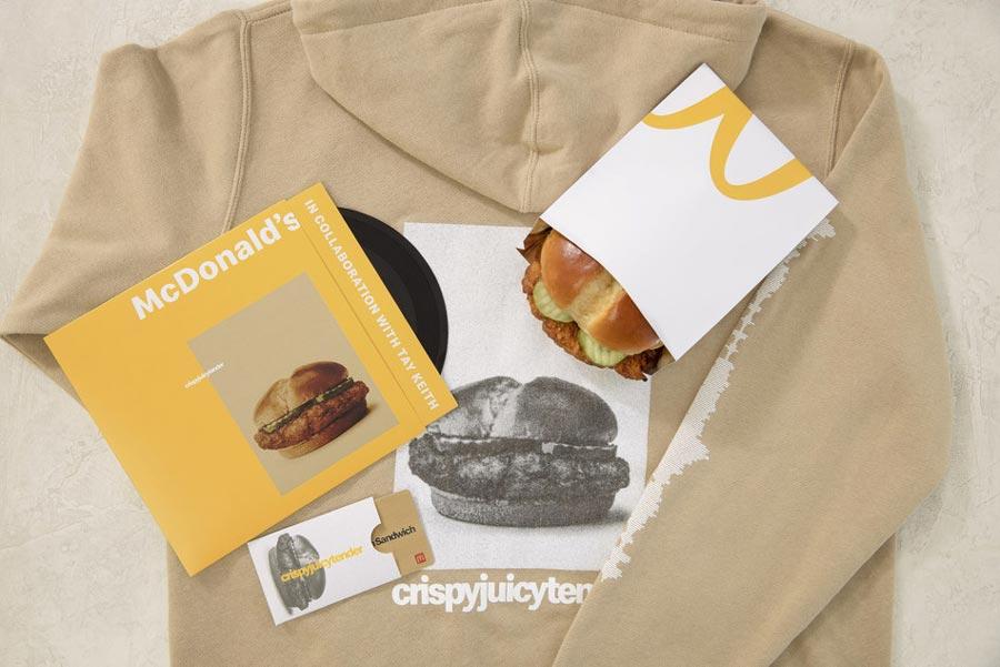 nueva crispy chicken de McDonald's