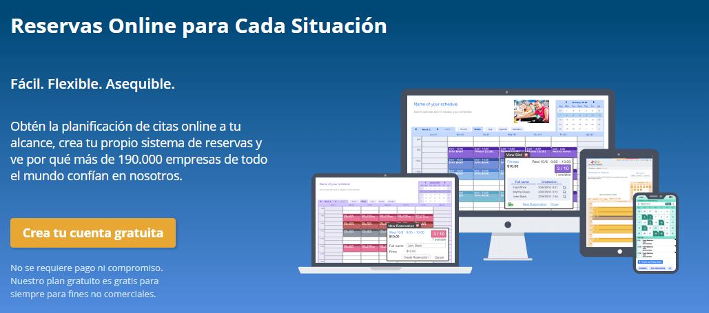 SuperSaaS, software de reservas online