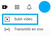 subir video a youtube