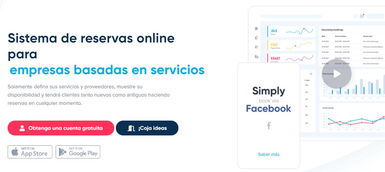 simply book, software de reservas online